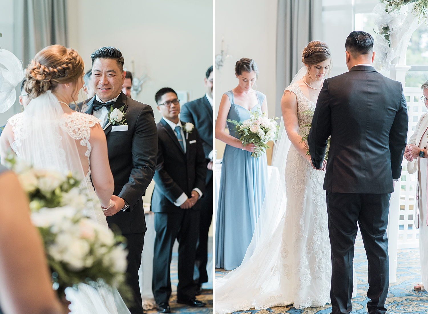 candid ceremony at lionshead golf club